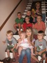 Most of my nieces and nephews at my maternal grandparents home