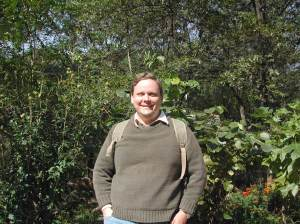 Me backpacking in Kunyu National Park, Shandong, China