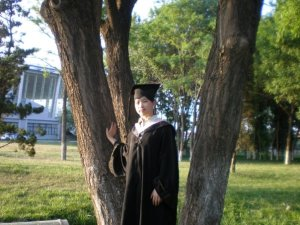 One of the members of my Student-Advisee Classes graduating from SDIBT