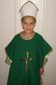 Anthony as St. Patrick