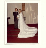 Michelle and I on our wedding day.