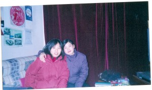 Loraina and Sally (W.G-r. & L.T-t)  my student assistants at a tecnical university in China