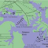 British Besiege and Attack Baltimore in war of 1812
