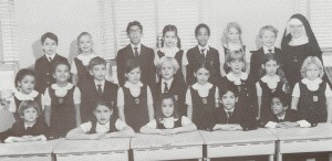 My second grade class at an Episcopal day School in New York