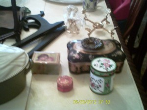 A few random things on the trivial end of my grandmother's estate when it was inventoried.