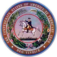 The seal of the Confederacy ties the Lost Cause to the Revolution and the past long before that war.