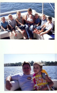 My immediate  family vacationing on False River before my cousin Severin W. Summers III was killed in Afghanistan. That was the site of the last long conversation we had about war, honor and family and peace.