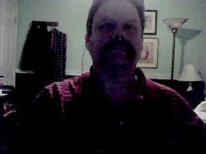 Not a very flattering image. A selfie taken a few nights ago.