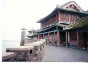 Where the Bohai Sea meets the Yellow Sea and  China looks out to Korea.