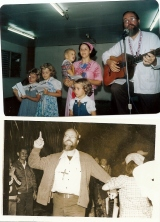 Some photos of their ministry before Family Missions Company