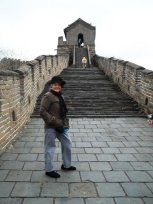 My mother toured the Great Wall of China/ I did a good bit of touring but I did not get to really tour the Great Wall in my longer stay in China