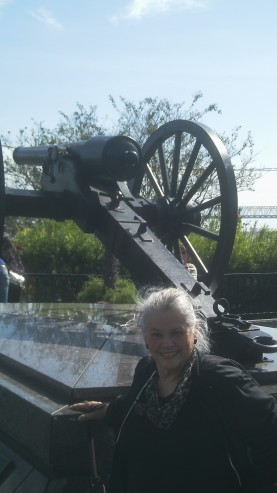 My mother in front a Confederate monument in New Orleans reminds us of what complexity there is in violence and duty.