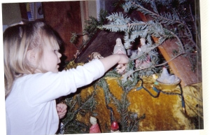 My niece's early Christmas can be remembered but not recaptured.