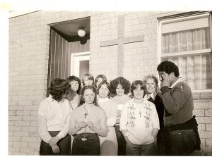 Maranatha Youth Group in New Zealand-- my good friends at the dawn of the 1980's