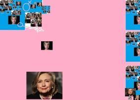 Hillary art montage