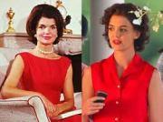 Katie Holmes as Jackie Kennedy