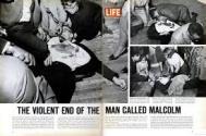 Malcolm X shot Life