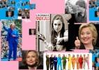 Hillary Clinton a familiar face....