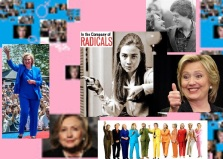 Hillary Clinton a familiar face....