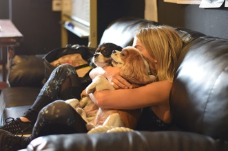 Julianne Hough Move newsletter dogs