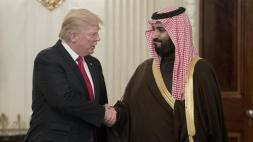 Trump with Arab leader