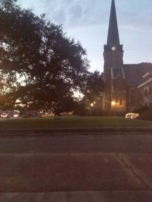 St. Mary Magdalen Church evening
