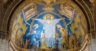 Christ Risen ceiling