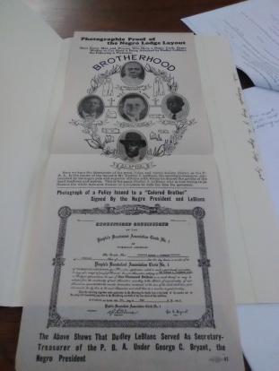 Dudley Leblanc Negro Lodge flyer